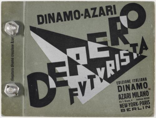 17-Fortunato Depero book, 1927
