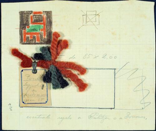 20-Gio Ponti, Seggioline drawing, 1935