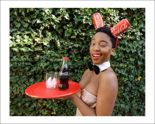 22-Bunny Girl from Black Coca Cola