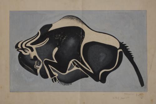 30-Luigi Vietti, Dagli scavi, 1933