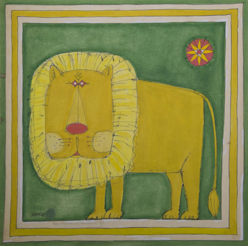 34-Riccardo Manzi, Lion, 1959