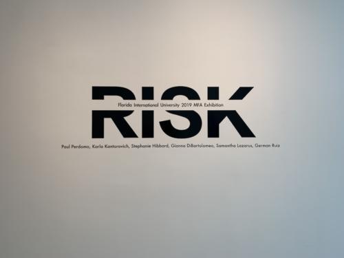 5-RISK-Florida International University 2019 MFA Exhibition
