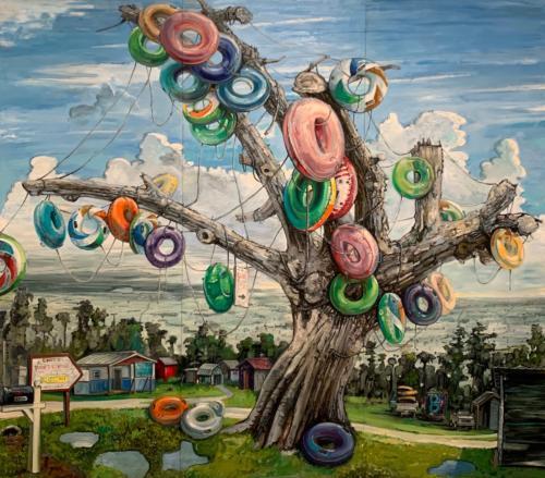 6-Florda Prize Award in Contemporary Art, 2019, work by Amer Kobaslija