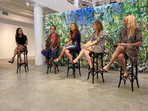 Bianca Erickson, Casey Zap, Lisa merkle, Asha Walker and Michal Aviv