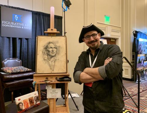 Charles Miano Demo, Old Master Portrait Drawning