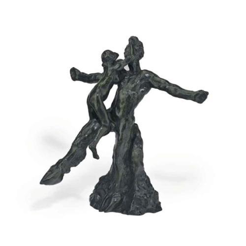Faune et Faunesse, Auguste Rodin