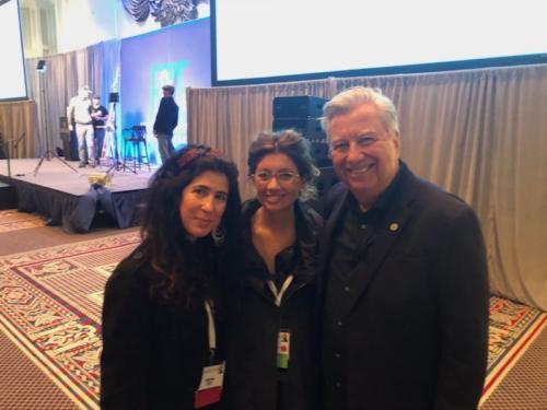 Gabriela Gonzalez Dellosso, Laura Vailati (MIami NIche) and Eric Rhoads