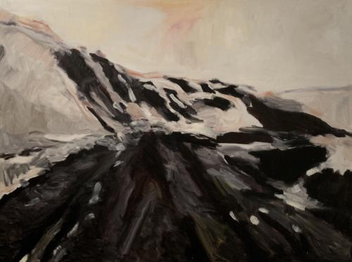 Untitled Landscape, 2006, oil on canvas. 35 7/16 x 47 1/4