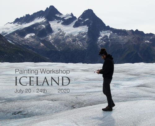 Iceland painting workshop