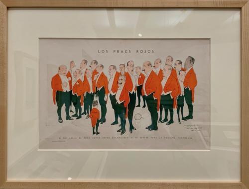 Illustration, Les fracs rojos (The Redtail Jackets), March 12, 1916, Havana.