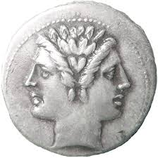 Janus Roman coin
