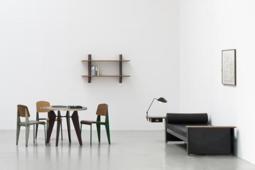 Jean Prouvé mid century for Galerie Patrick Seguin