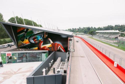 Arte: Omaggio a Ayrton Senna realizzato dal famoso street artist brasiliano Kobra