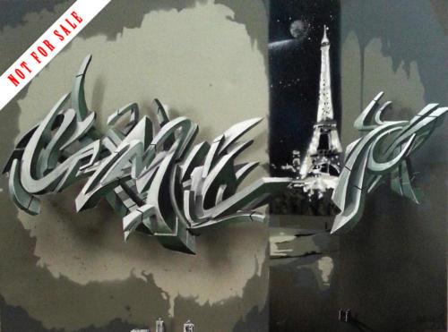 Paris, 2014 by Smog-One
