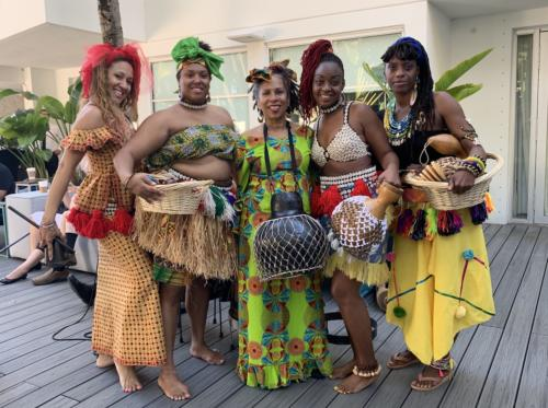 Part of Delou Africa Dance Ensemble
