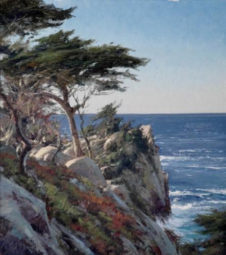 Points Lobos by MAtt Smith. Oil, 18x16