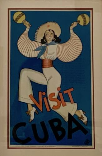 Print Visit Cuba, 1935