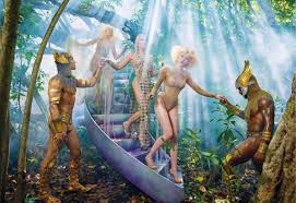 Reconnect, September by David LaChapelle.