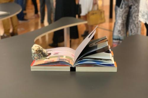 Sphere of Meanning, an Exhibition of Artistic's Book. Book on view.