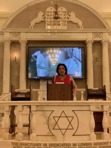 Susan Gladstore Executive Director at Jewish Museum of Floroida.