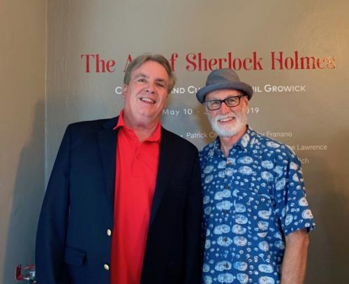 The Art of Sherlock Holmes guest.