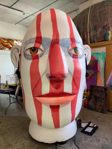 The Janis Project inflatables in Miami Studio