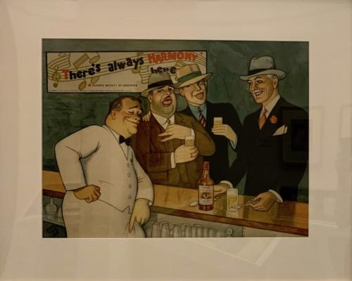 There's always harmony here, c 1935. Cartstairs Bros.Distilling Co., Inc., New York City Publisher. Offset lithography