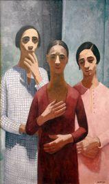 Tre Sorelle by Felice Casorati.