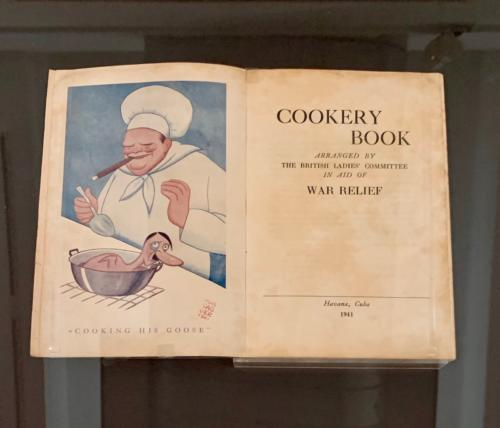 from Cookery Book, 1941, La Havana, Cuba